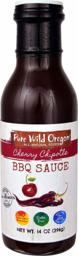 Pure Wild Oregon Chipotle BBQ Sauce Perspective: front