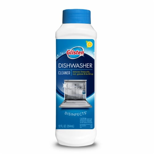 Glisten Dishwasher Magic Dishwasher Cleaner and Disinfectant Perspective: front