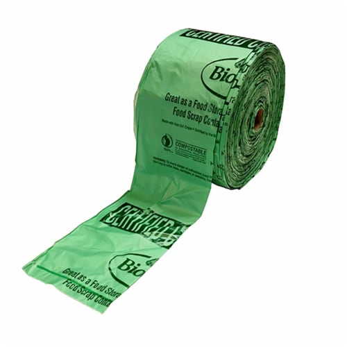 BioBag Compostable 15  x 17  Compact Produce Bags / 280-ct. roll Perspective: front