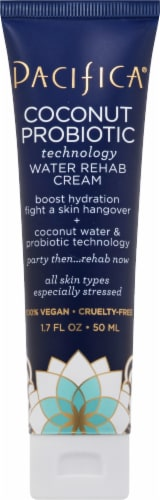 Pacifica Coconut Probiotic Water Rehab Cream Perspective: front