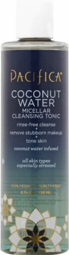 Pacifica  Coconut Water Micellar Cleansing Tonic Perspective: front