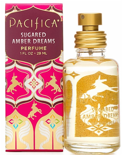 Pacifica  Spray Perfume Sugared Amber Dreams Perspective: front