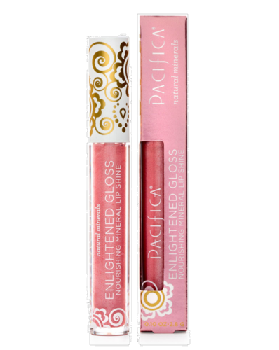 Pacifica Enlightened Beach Kiss Mineral Lip Gloss Perspective: front