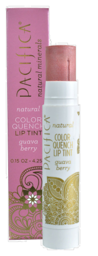 Pacifica Color Quench Guava Berry Lip Tint Perspective: front