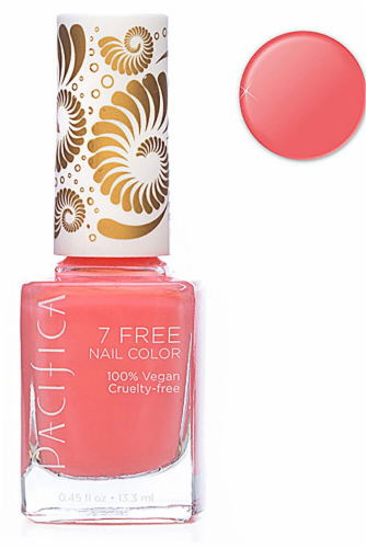 Pacifica Blushing Bunnies Nail Polish Perspective: front