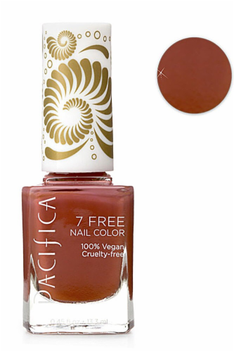 Pacifica 7 Free Desert Princess Nail Polish Perspective: front