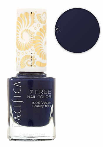 Pacifica 7 Free Midnight Rambler Nail Polish Perspective: front