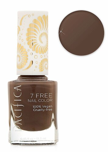 Pacifica 7 Free Beach Wood Nail Color Perspective: front