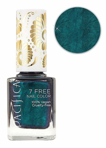 Pacifica 7 Free Swamp Thing Nail Polish Perspective: front