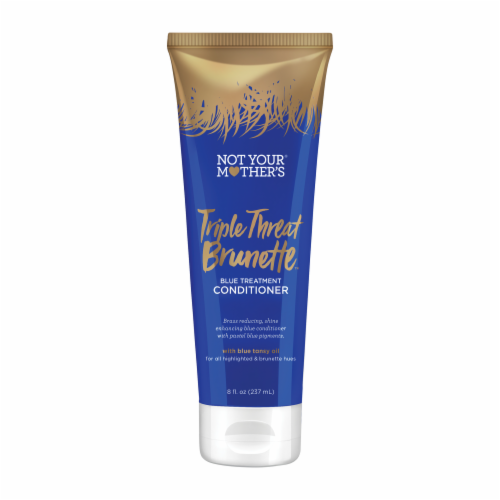 Not Your Mother's Triple Threat Brunette Blue Treatment Conditioner Perspective: front