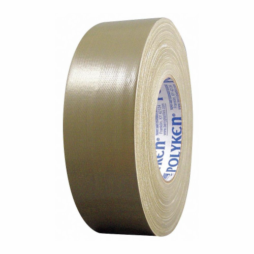 Polyken Duct Tape,Olive Drab,2 13/16inx60 yd, Perspective: front