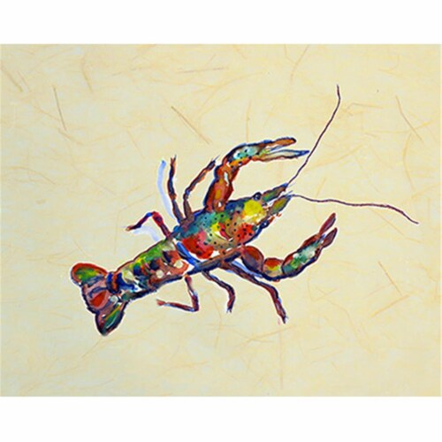 Betsy Drake PM986B Crayfish B Place Mat - Set of 4 Perspective: front