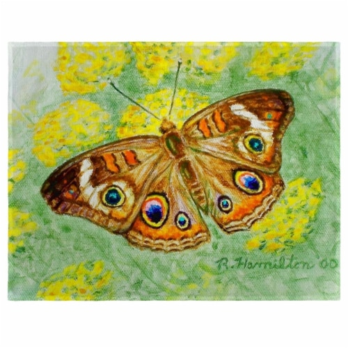 Betsy Drake PM763 Buckeye Butterfly Place Mat - Set of 4 Perspective: front