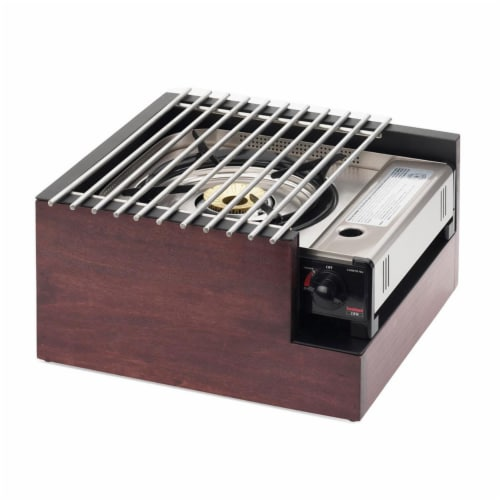Cal Mil 1556-52 Westport Butane Stove Frame - 14 x 14.5 x 7.5 in. Perspective: front
