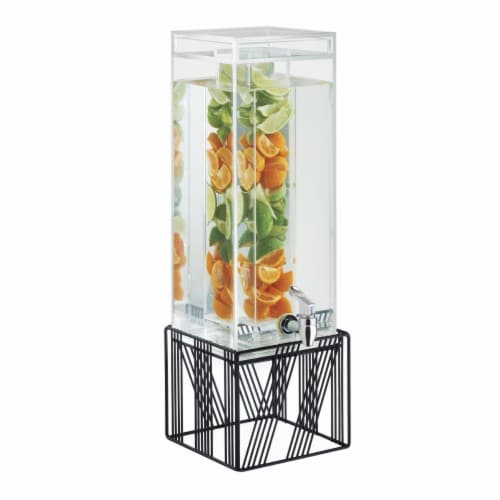 Cal Mil 4102-3INF-13 Portland Beverage Infusion Dispenser Perspective: front