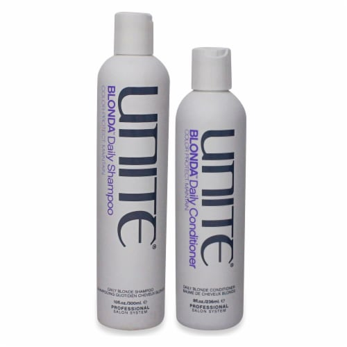 Unite Blonda Daily Shampoo & Conditioner Combo Pack Perspective: front