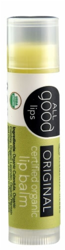 Elemental Herbs  All Good Lips Lip Balm Certified Organic   Original Perspective: front