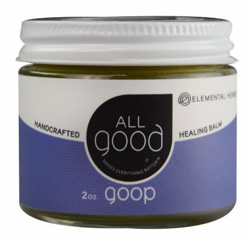 Elemental Herbs  All Good Goop Healing Balm Perspective: front