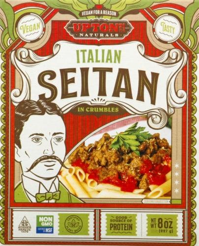Upton's Naturals Italian Seitan in Crumbles Perspective: front