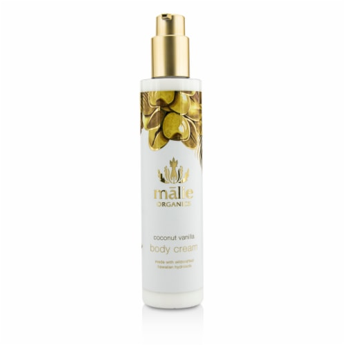 Malie Organics Coconut Vanilla Body Cream 222ml/7.5oz Perspective: front