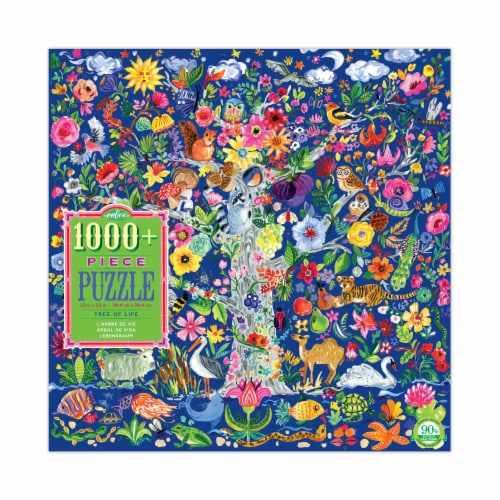 eeBoo Tree of Life Puzzle Perspective: front