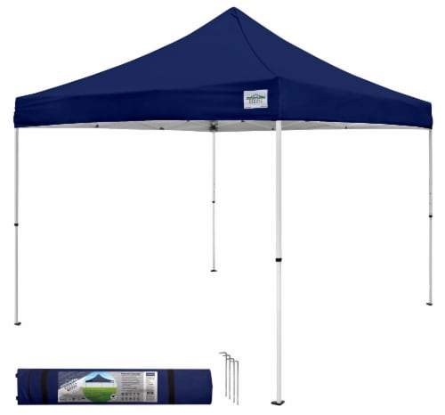 Caravan Canopy Sports M-Series 2 Pro Instant Canopy - Navy Blue Perspective: front
