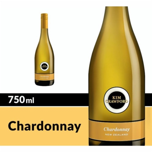 Kim Crawford Chardonnay White Wine Perspective: front