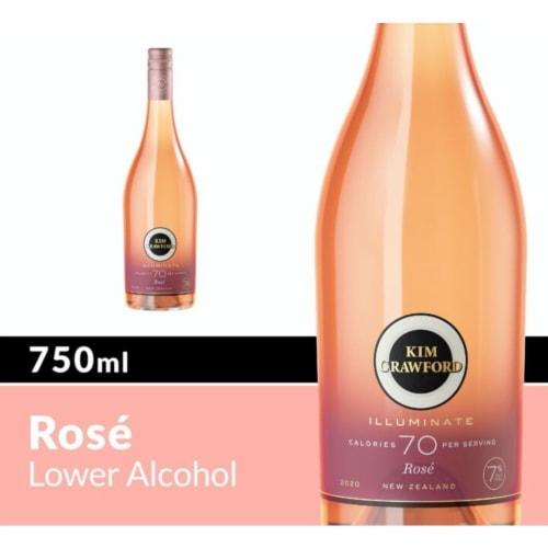 Kim Crawford Illuminate Rose Wine Perspective: front