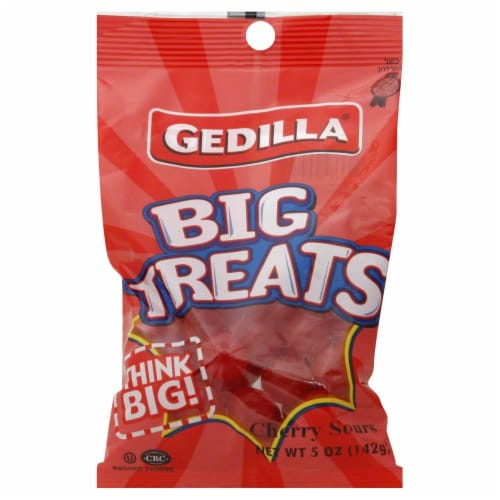 Gedilla Big Treats Cherry Sours Perspective: front