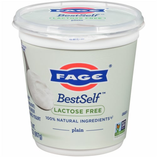 Fage BestSelf Plain Yogurt Perspective: front