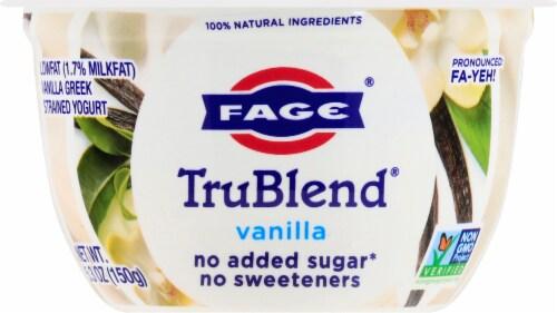 Fage TruBlend Lowfat Vanilla Greek Yogurt Perspective: front