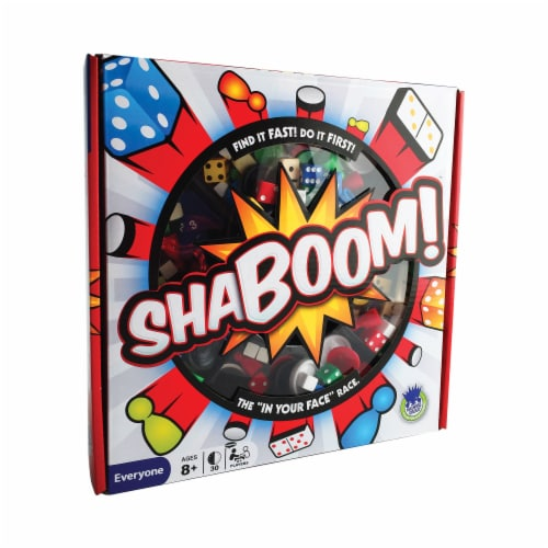 Haywire Group ShaBoom! Board Game Perspective: front