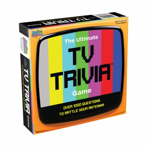 AreYouGame The Ultimate TV Trivia Game Perspective: front