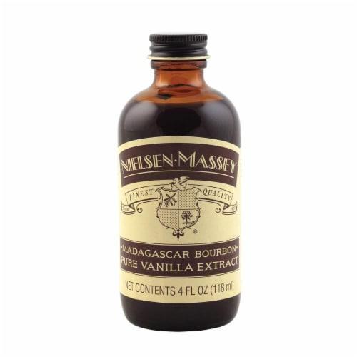 Nielsen-Massey Madagascar Bourbon Pure Vanilla Extract, 4 FL OZ Perspective: front