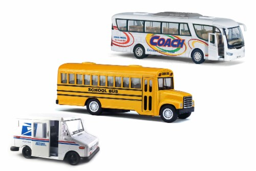 MTI Diecast Pullback Car Set Perspective: front