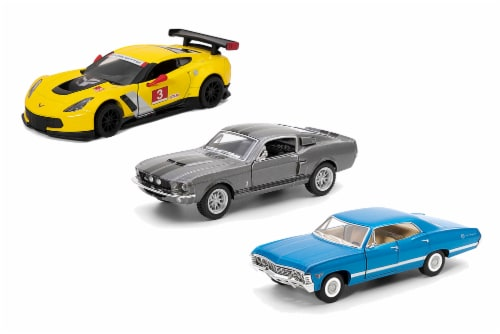 MTI Diecast Pull Back Cars - Assorted Perspective: front