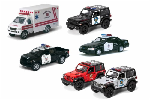 MTI Diecast Pullback Car - Assorted Perspective: front
