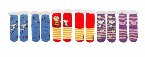 MTI Peanuts Sherpa Socks - Assorted Perspective: front