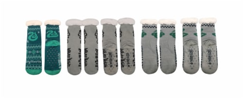 MTI Harry Potter Sherpa Sock Assortment - Slytherin Perspective: front