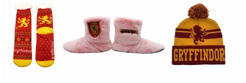MTI Harry Potter Gryffindor Sock/Boot/Beanie Set Perspective: front