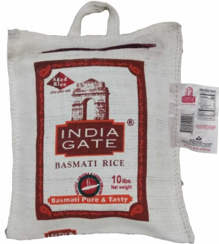 India Gate Basmati Rice Perspective: front