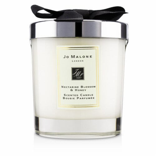 Jo Malone Nectarine Blossom and Honey Scented Candle 7 oz Perspective: front