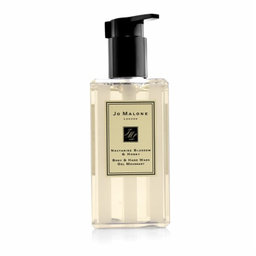Jo Malone Nectarine Blossom and Honey Hand and Body Wash 8.5 oz Perspective: front