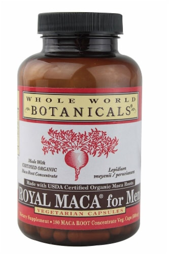 Whole World Botanicals Royal Maca® for Men Perspective: front