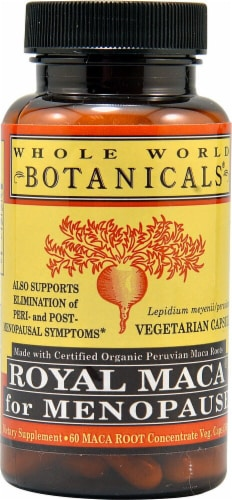 Whole World Botanicals  Royal Maca® for Menopause Perspective: front
