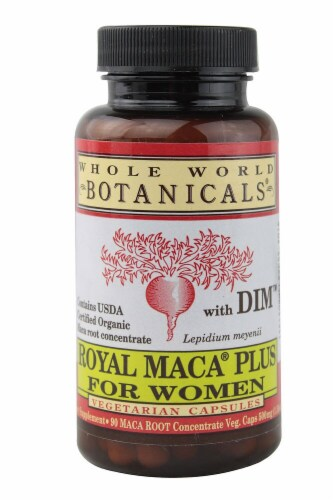 Whole World Botanicals Royal Maca® Plus for Women Perspective: front
