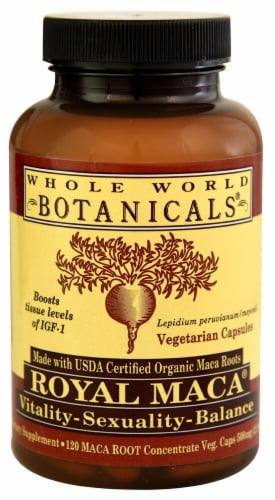 Whole World Botanicals  Royal Maca Perspective: front