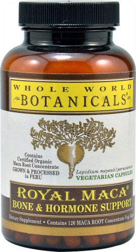 Whole World Botanicals  Royal Maca® Bone & Hormone Support Perspective: front