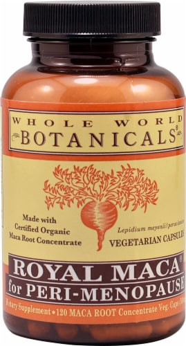 Whole World Botanicals  Royal Maca® for Peri-Menopause Perspective: front