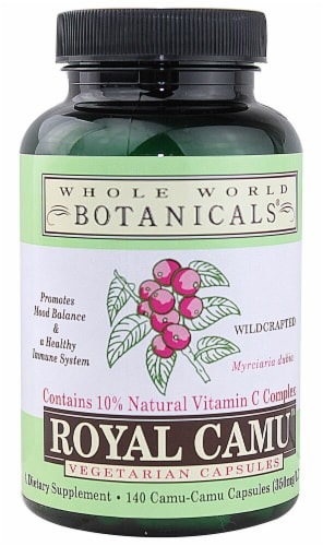 Whole World Botanicals  Royal Camu™ Perspective: front